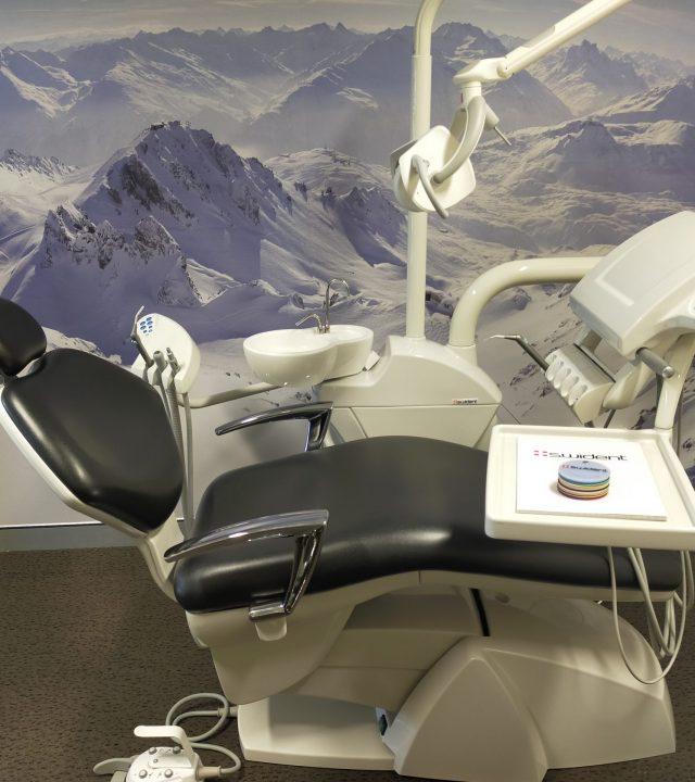 Swident Dental Chair in Dentitech's showroom